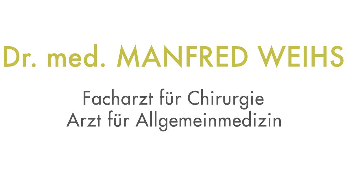 OA Dr. med.univ. Manfred Weihs, MBA